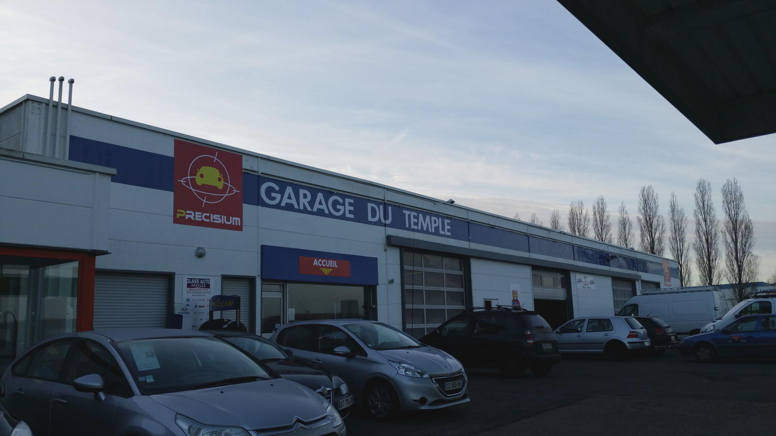 Garage Du Temple 224 Vend 244 Me 41 Centre Glass Auto